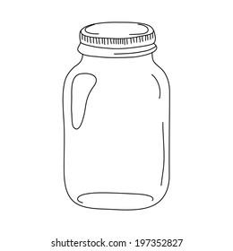 Vector jar for preserve