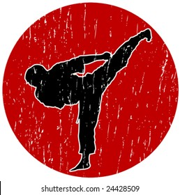 Vector Karate logo