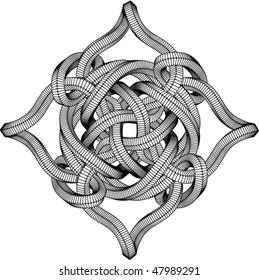 Vector Knot Illustration