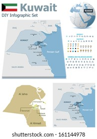 Kuwait Map Images, Stock Photos & Vectors | Shutterstock