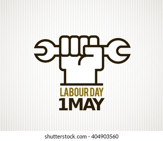 Vector Labour Day