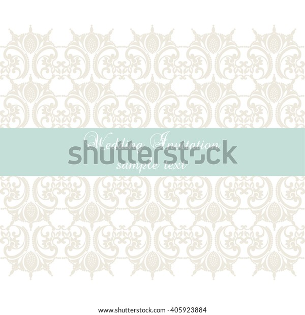 Vector Lace Crochet Card Background Wedding Miscellaneous