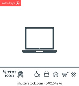 Vector laptop icon