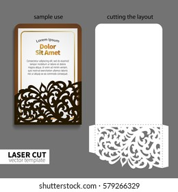 Vector laser cutting.