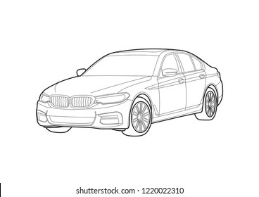 Bmw Cars Stock Vectors Images Vector Art Shutterstock