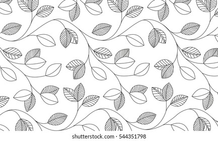 Vector - Leaf pattern