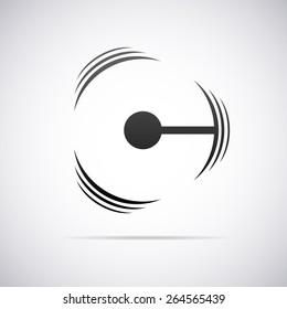 Vector letter C logo icon design template.