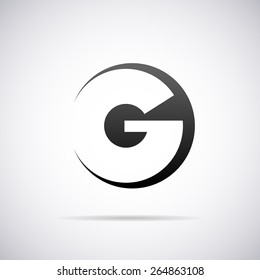 Vector letter G logo icon design template