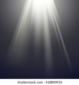 Vector Light Effect Spotlight
