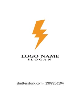 Vector - Vector lightning icon logo and symbols