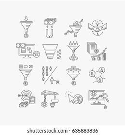 vector line icon.