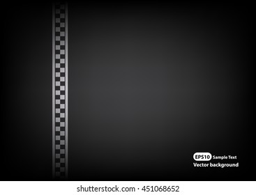 Vector line racing background