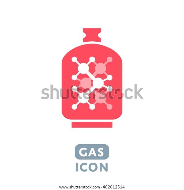 Vector Liquid Propane Gas icon Illustration sign symbol design