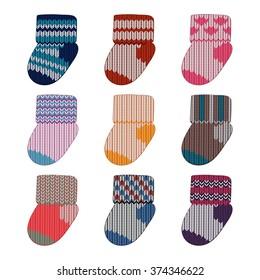 socks design template images stock photos vectors shutterstock