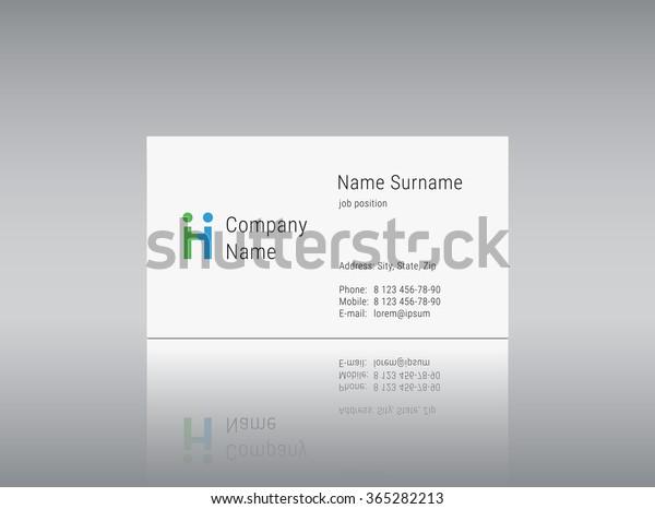 Vector Logo Alphabet Letter H Business Stock Vector (Royalty Free
