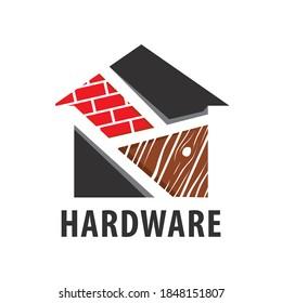 Vector logo of a building materials store