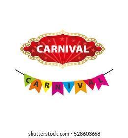 vector logo carnival