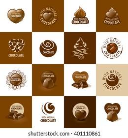 vector logo chocolate