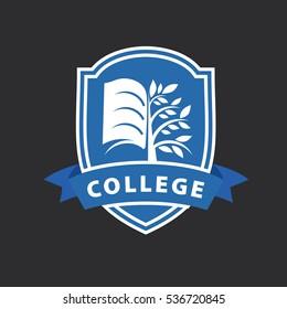 vector logo college