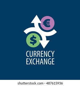 vector logo currency exchange