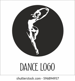 vector logo dance