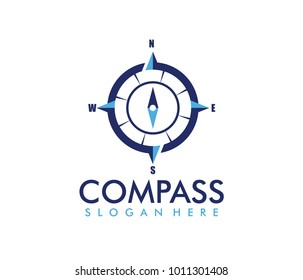 vector logo design of compass adventure for outdoor, travel, tour, navigation, and exploration