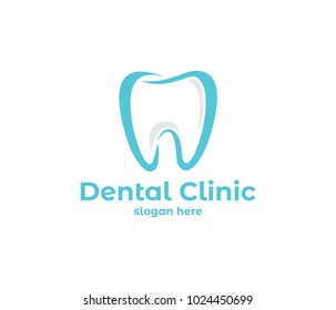vector logo design illustration perfect suitable for dental clinic healthcare, dentist practice, tooth treatment, healthy tooth and mouth, and more