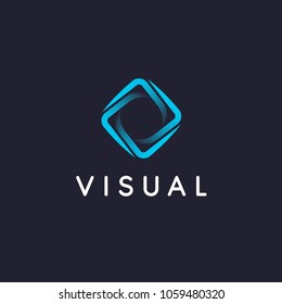 Vector logo design template for business. Abstract sign