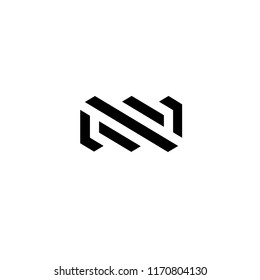 Vector logo design template for business. Infinity sign
