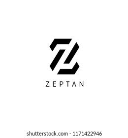Vector logo design template for business. Z letter logo