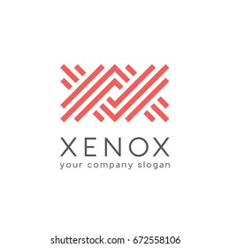 Vector logo design template for business