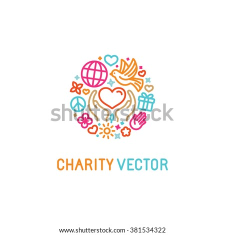 vector logo design template icons trendy のベクター画像素材