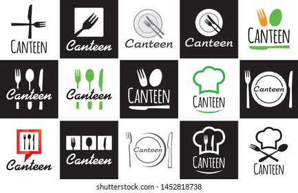 Vector logo for dining room, cafe and restaurant