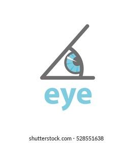 Vector logo eye