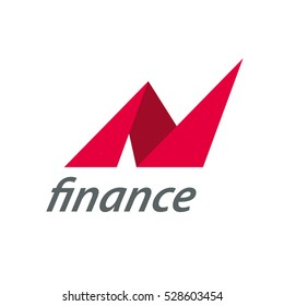 Vector logo finance