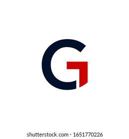 Vector logo of G, for travel companies and hotels, etc.