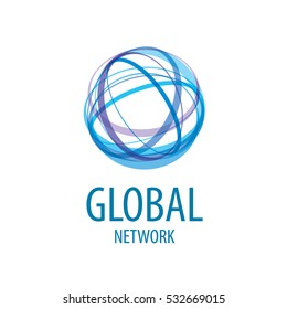 vector logo global network
