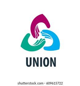 vector logo hands