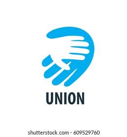 vector logo handshake