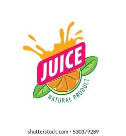 vector logo juice