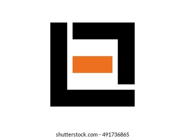 vector logo of letter L