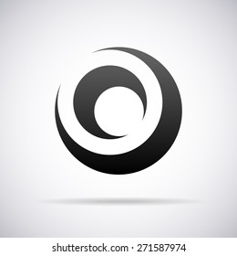 Vector logo for letter O design template