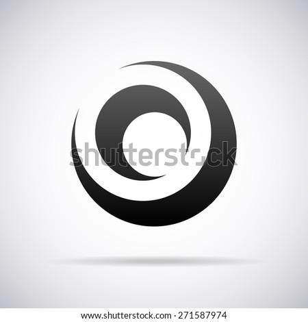 Letter O Template | Vector Logo Letter O Design Template Stock Vektorgrafik Lizenzfrei