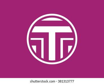 Vector Logo letter T