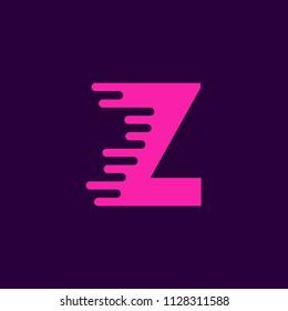 Vector Logo Letter Z. Z Letter Design Vector