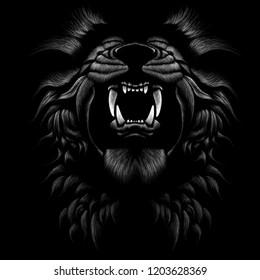 Imágenes Fotos De Stock Y Vectores Sobre Lion Wallpaper