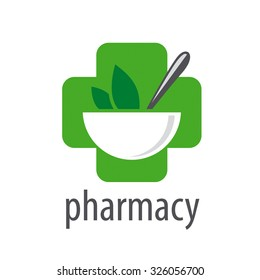 vector logo for pharmacies on a white background