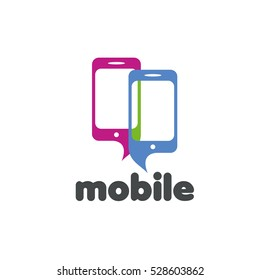 vector logo phone