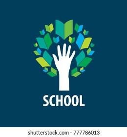 vector logo School