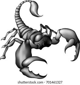 Musta Scorpion suku puoli kohtaus